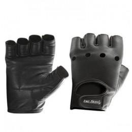 Befirst. Перчатки кожа черные (арт 708)