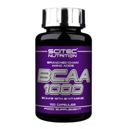 Scitec. BCAA 1000 - 100 капс