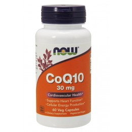 NOW. CoQ10 - 30 мг - 60 капс