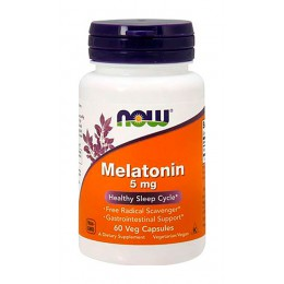 NOW. Melatonin 5 мг - 60 капс