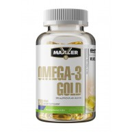 Maxler. Omega-3 Gold - 120 капс