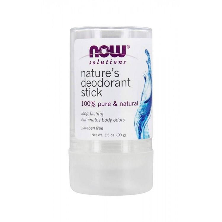 NOW. Natures Deodorant Stick