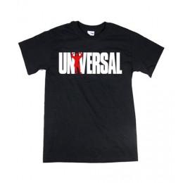 "Universal. Футболка ""Universal logo"" черная"