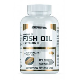 KING. FISH OIL + VITAMINE E - 90 капс