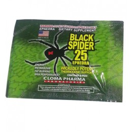 ClomaPharma. Black Spider - 2 капс