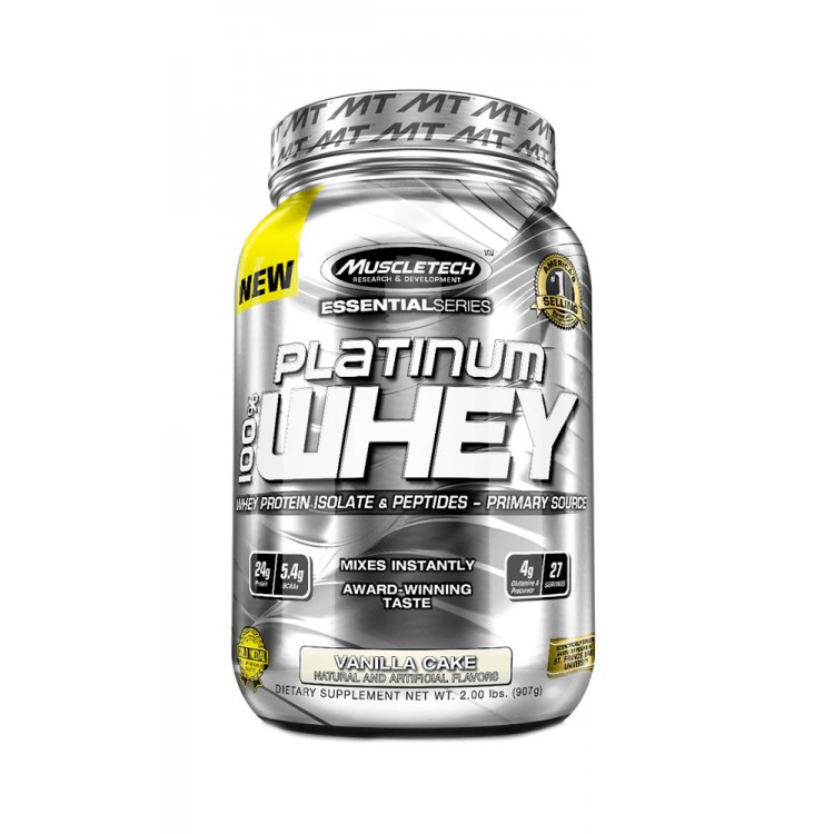 MuscleTech. Essential 100% Whey - 907 г