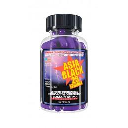 ClomaPharma. Asia Black-25 - 100 капс