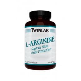 TwinLab. L-Arginine 500 мг - 100 капс