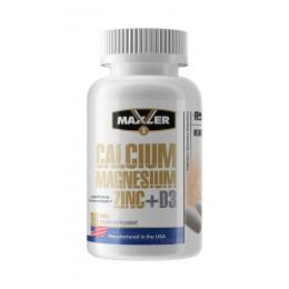 Maxler. Calcium Zinc Magnesium - 90 таб