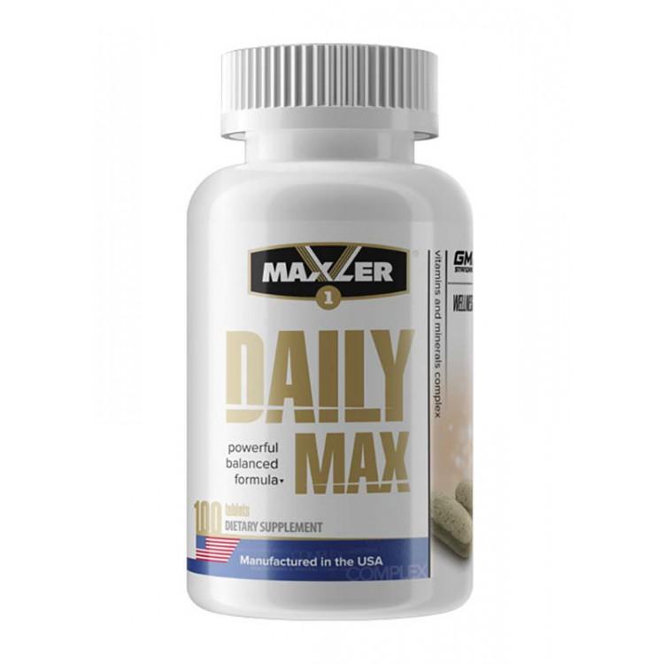 Maxler. Daily Max - 100 таб