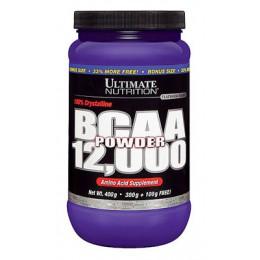 Ultimate. BCAA 12.000 - 400 г - без вкуса