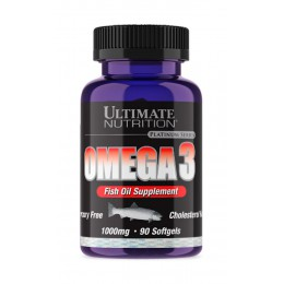Ultimate. Omega 3 - 90 капс