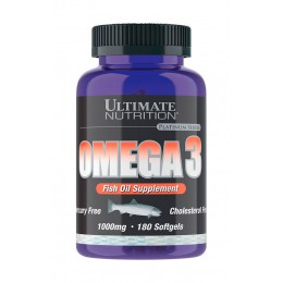Ultimate. Omega 3 - 180 капс
