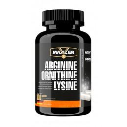 Maxler. Arginine-Ornithine-Lysine - 100 капс