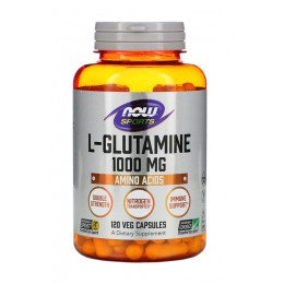 NOW. L-Glutamine 1000 мг - 120 капс