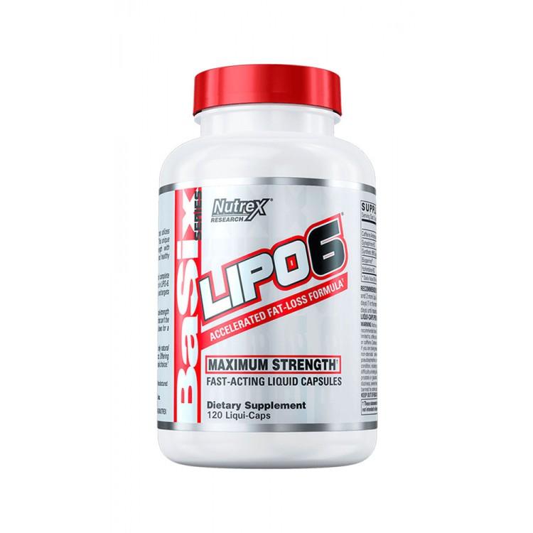 Nutrex. Lipo-6 - 120 капс