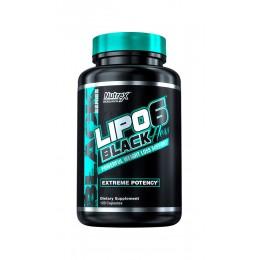 Nutrex. Lipo-6 BLACK HERS - 120 капс