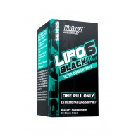 Nutrex. Lipo-6 BLACK HERS Ultra Con - 60 капс