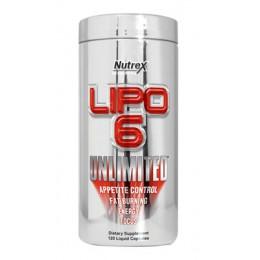 Nutrex. Lipo-6 Unlimited Powder - 150 g - Fruit Punch