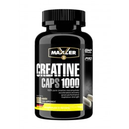 Maxler. Creatine Caps 1000 - 100 капс