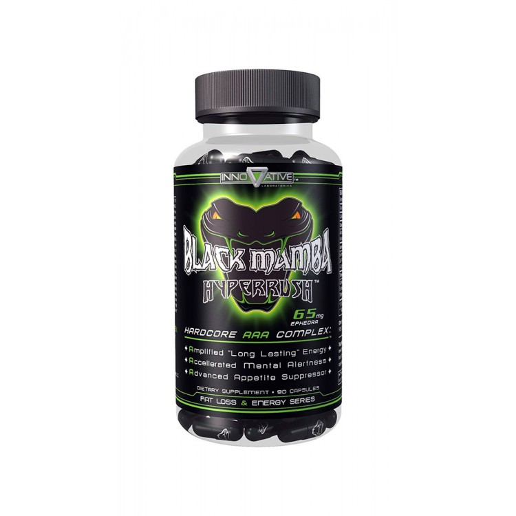 Innovative Labs. Black Mamba Hyperrush - 90 капс