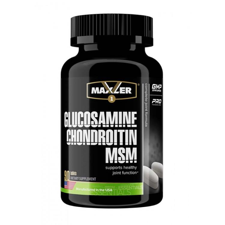 Maxler. Glucosamine-Chondroitin-MSM - 90 таб