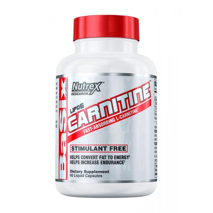 Nutrex. Lipo-6 Carnitine - 60 капс