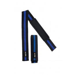 Befirst. Ремни для запястья черно-синие, 35 см (арт 665)