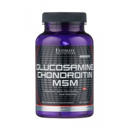 Ultimate. Glucosamine & Chondroitin & MSM - 90 таб