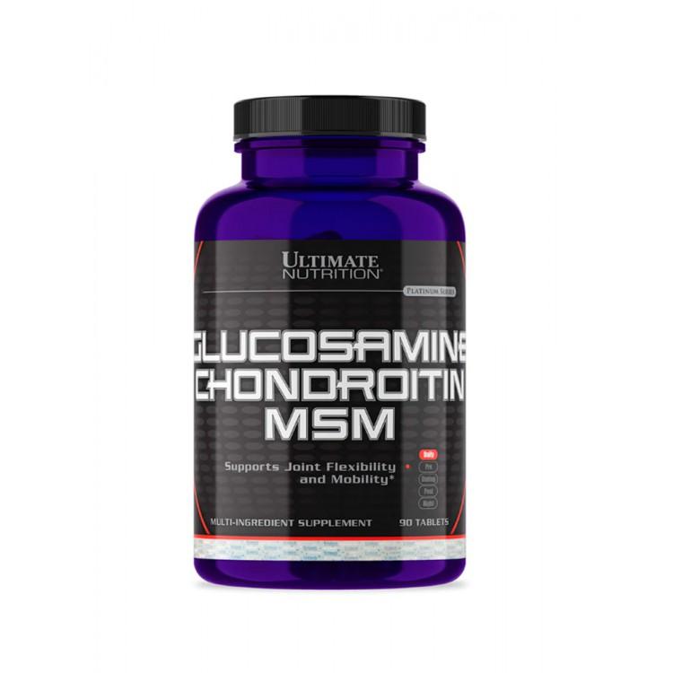 Ultimate. Glucosamine & Chondroitin & MSM - 90 таб