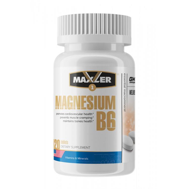 Maxler. Magnesium B6 - 120 таб
