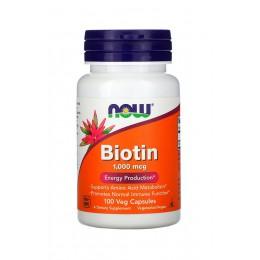 NOW. Biotin 1000 мкг - 100 капс