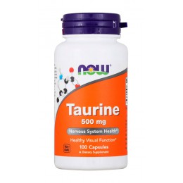 NOW. Taurine 500 мг - 100 капс