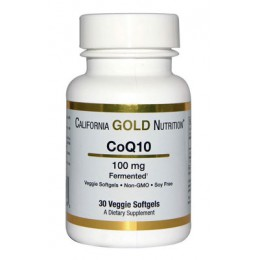 CaliforniaGold. CoQ10 100 мг - 30 капс