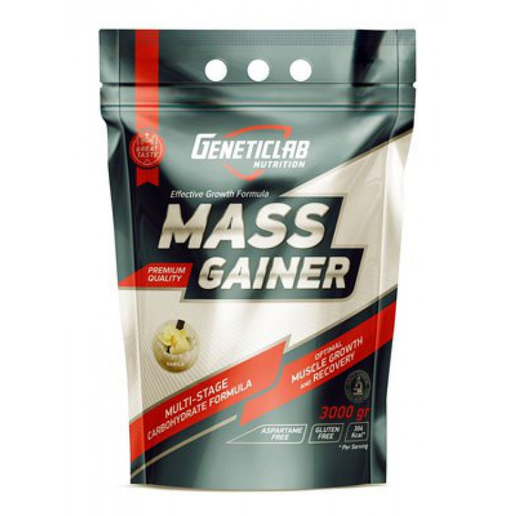 GeneticLab. Mass Gainer - 3000 г