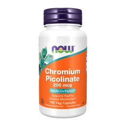 NOW. Chromium Picolinate 200 мкг - 100 капс
