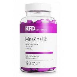 KFD. ZMA (Mg+Zn+B6) - 120 таб