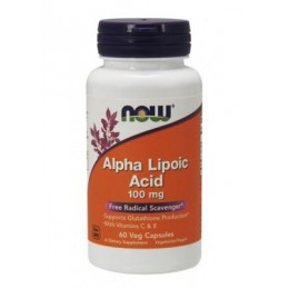 NOW. Alpha Lipoic Acid 100 мг - 60 капс