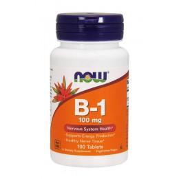 NOW. B-1 100 мг - 100 таб