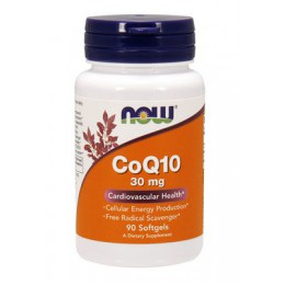 NOW. CoQ10 - 30 мг - 90 капс
