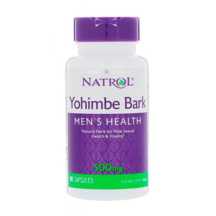 Natrol. Yohimbe Bark 500 мг - 90 капс