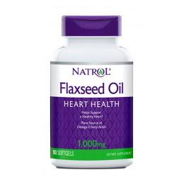 Natrol. Flax Seed Oil (1000 мг) - 90 капс