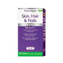 Natrol. Skin Hair Nails Women`s - 60 капс
