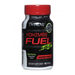 TwinLab. Yohimbe Fuel - 50 капс