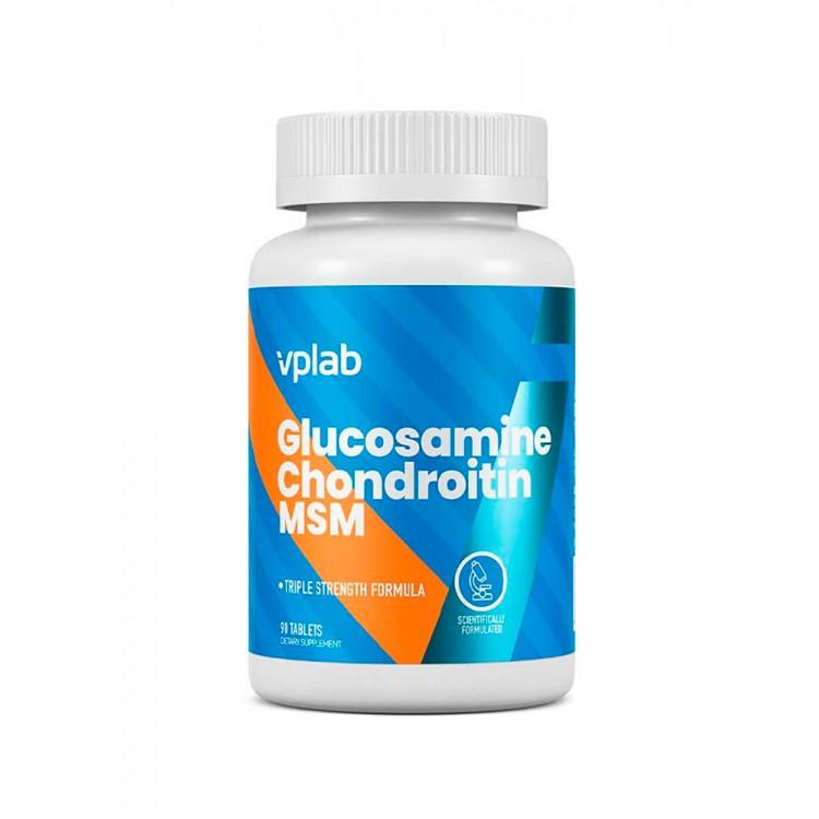 VPLab. Glucosamine Chondroitin MSM - 90 таб