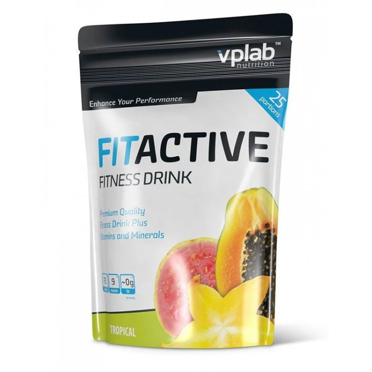 VPLab. Fitactive Fitness Drink - 500 г
