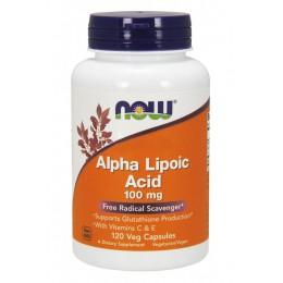 NOW. Alpha Lipoic Acid 100 мг - 120 капс