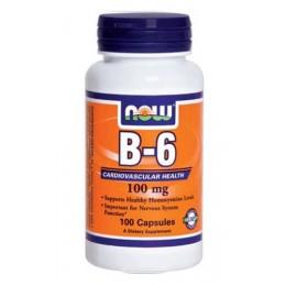 NOW. B-6 100 мг - 100 капс
