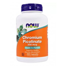 NOW. Chromium Picolinate 200 мкг - 250 капс