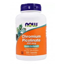 NOW. Chromium Picolinate 200 мкг - 250 капс
